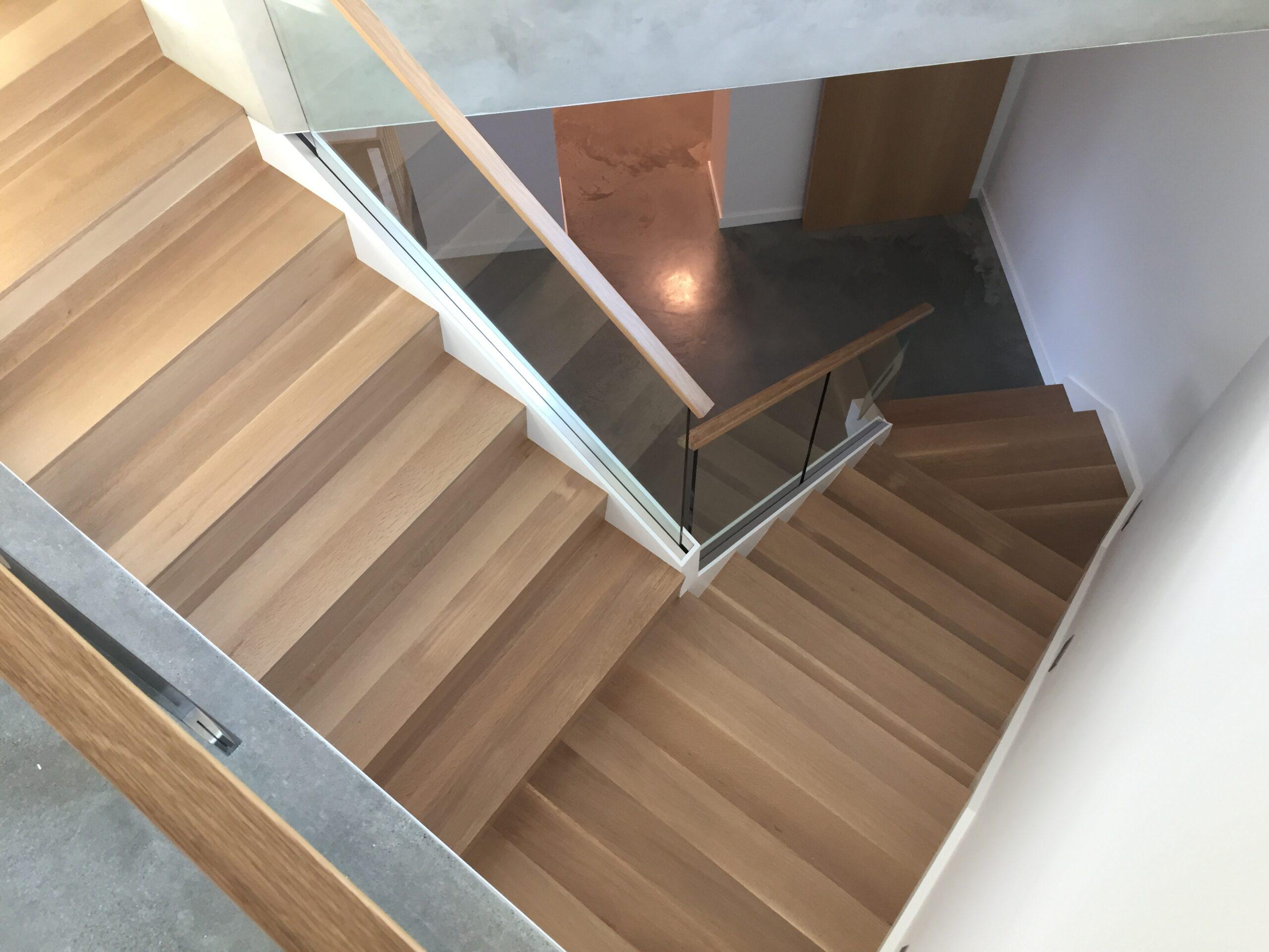 Net Zero Home 2021 Stairwell